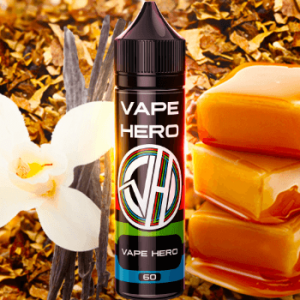 Caramel & Vanilla Tobacco - Vape Hero E-Juice