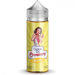 Cloud Co Creamery Banana - Vape Hero Australia