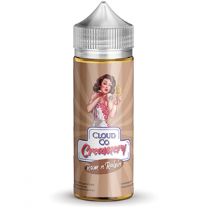 Cloud Co Creamery Rum n Raisin - Vape Hero Australia