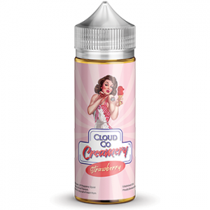 Cloud Co Creamery Strawberry - Vape Hero Australia