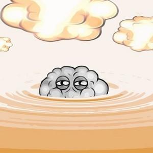 Cloudy Mc Cloud Face Gooey Caramel - Vape Hero Australia